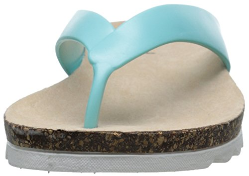 Qupid Women's Chevy-01 Flip-Flop Sandal Mint Z2yDRC1DRI