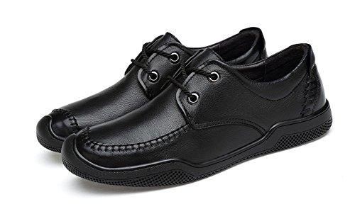 morbida Shoes Suede Uomo Business Casual Leather Seasons 44 36 A Xie Suola Four fFq8Xxw
