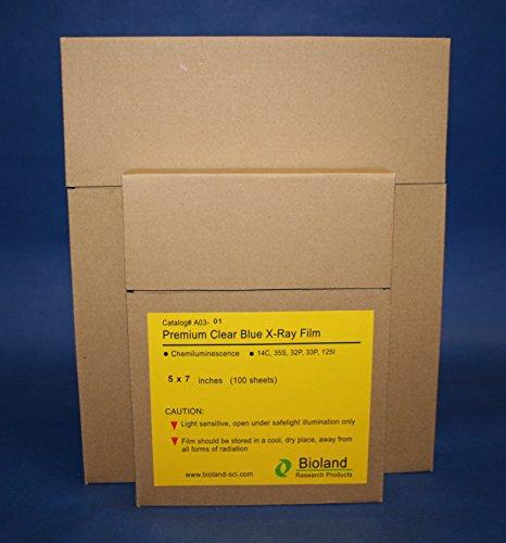 Premium Blue X-ray film (8x10