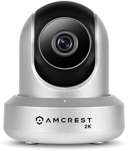 Amcrest UltraHD 2K WiFi Camera 3MP 2304TVL Dualband 5ghz 2.4ghz Indoor Pan Tilt Zoom Surveillance Wireless IP Camera