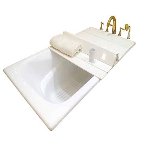 A.B Crew Creative Folding Bathtub Tray Bathtub Caddy - Good for Keeping Water Hot (31.5''x49.2'') by A.B Crew