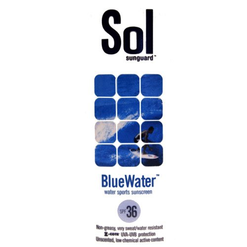 Sol Sunguard Bluewater SPF 36 32 oz Pump Bottle by SOL Sunguard
