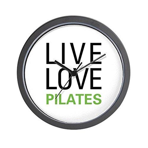 CafePress - Live Love Pilates - Unique Decorative 10'' Wall Clock by CafePress