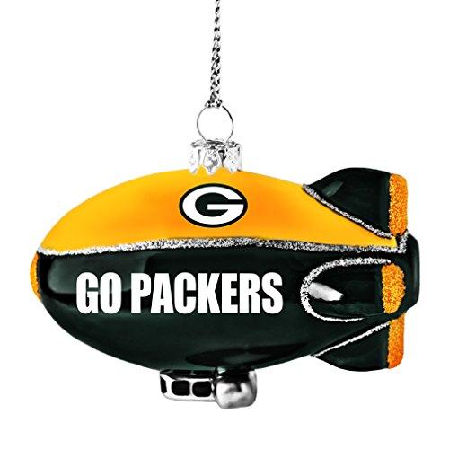 NFL Green Bay Packers Glitter Blimp Ornament