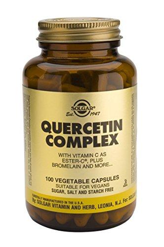 Solgar – Quercetin Complex with Ester C Plus Vegetable Capsules