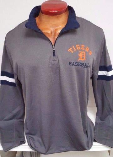 - Detroit Tigers Mens MLB TX3 Cool 1/4 Zipp Jacket XL