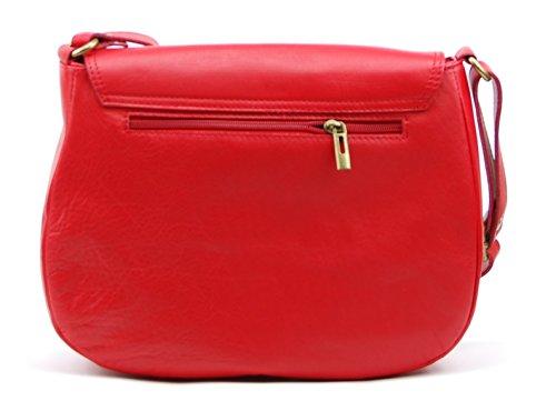 Clair cuir MY Sac OH BAG main femme à Rouge Vintage Modèle dwXvdER