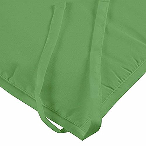 Baby Breathable Mesh Crib Liner 14''Sage,1 Pack Fits 4 Sided Slatted & Solid Back Cribs by Shreem Linen (Image #3)