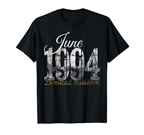 1994 Clothing - June 1994 Tee - 25 Year Old Shirt 1994 25th Birthday Gift T-Shirt