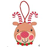 12 Foam Candy Cane Antler Reindeer Ornament Craft Kit/Christmas/Ornament/Craft Kits