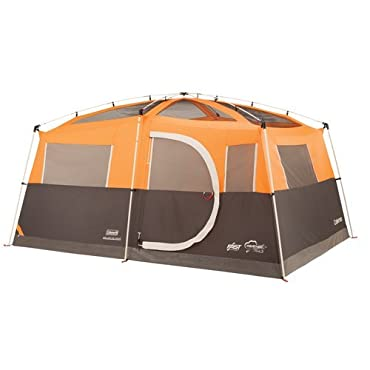 Coleman Jenny Lake Fast Pitch 8 Person Cabin Camping Tent with Closet (2000019796)