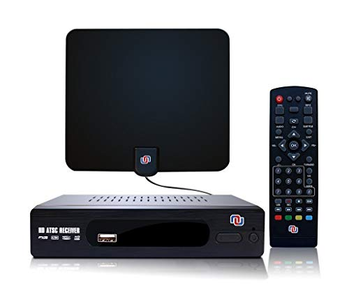ATSC HD Digital Converter Box w/ 1080p HDMI Out...