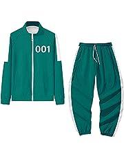 Koreaanse film inktvis spel kostuum merchandise hoodies broek tweedelige set inktvis spel cosplay sweatshirt trui 001 218 240 456 067 trainingspakken
