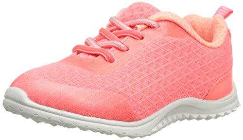 OshKosh B'Gosh Chrome-G Lightweight Athletic Sneaker (Toddler/Little Kid), Coral, 8 M US Toddler