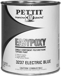 (Pettit Marine EasyPoxy Polyurethane Topside Boat Paint Black Quart by Pettit Paint )
