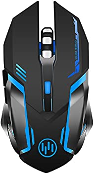 TENMOS X96 Wireless Rechargeable USB Optical LED Silent Gaming Mouse