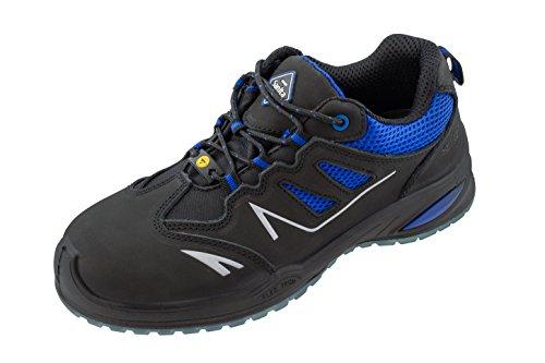 Sanita Gemstone scarpe con lacci Nabuk Nero/Blu S1P