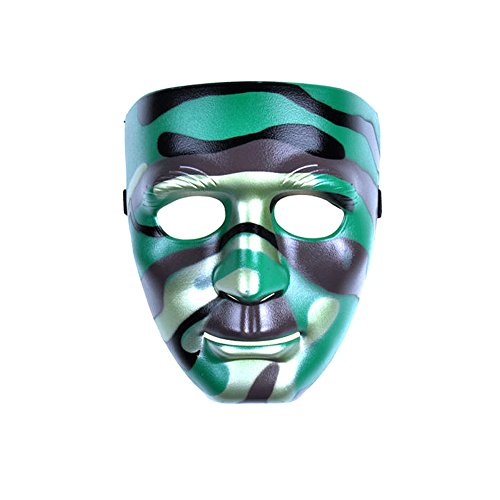 [PYD Hip-hop Street Dance Mask Halloween Masquerade Festival Costume Party Props] (Festival Street Dance Costume)