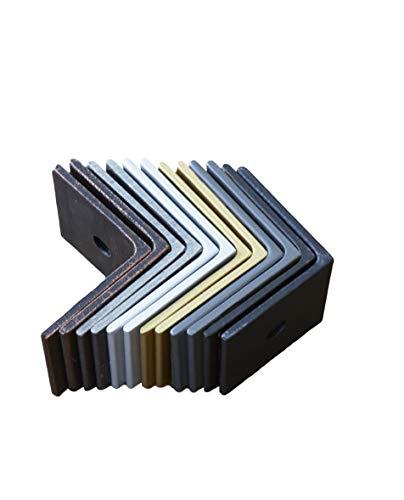 Designs of Distinction 01STR300GR1 3'' Apex Strap with Pyramid Screws 3'' Decorative, 3''-Large, Gun Metal Grey by Designs of Distinction (Image #4)