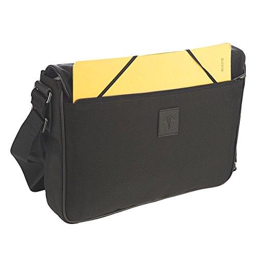Joop! Ottawa Kimon cartella a tracolla 37 cm compartimenti portatile Black