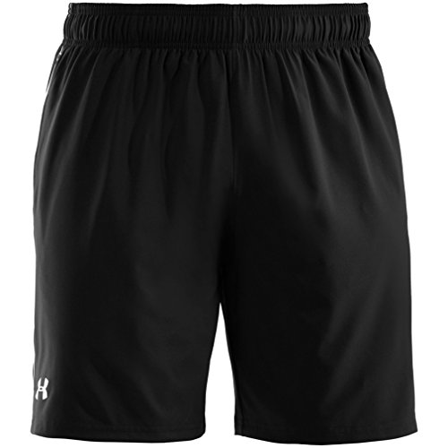 Under Armour Men's HeatGear Mirage 8-inch Shorts - Black/White, Small