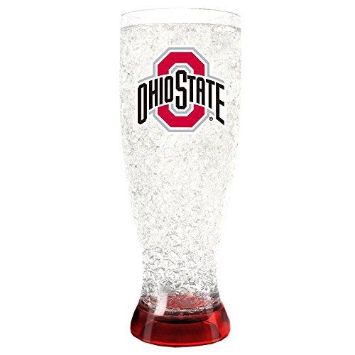 Ohio State Buckeyes 20 oz. Freezable Pilsner
