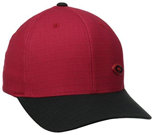 Oakley Men's Ellipse Cap, Red Line, One - Hat Red Oakley