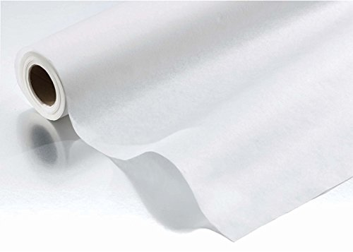 Exam Table Paper - Crepe - 18'' x 125 feet - Case of 12 - White