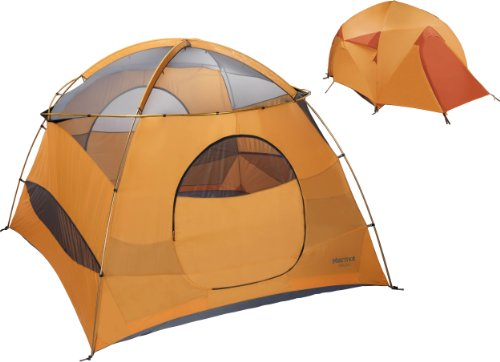 Marmot Halo 6-Persons Tent, Orange, One, Outdoor Stuffs