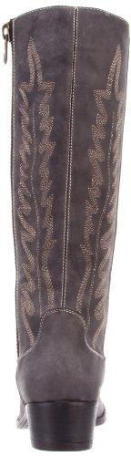 Women's Graced Madden Flat Black Leather Steve vaw5q