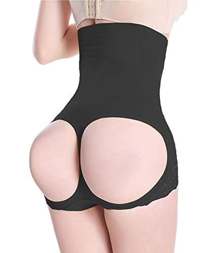 FUT Womens Butt Lifter Shaper Waist Cincher Girdle Tummy Slimmer Sexy Thong Panty Shapewear