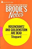 img - for Brodie's Notes on Tom Stoppard's Rosencrantz and Guildenstern are Dead (Pan study aids) by D.J. Vickery (1980-01-30) book / textbook / text book