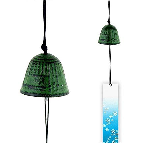 Candora Temple Bell Japanese Wind Chime Hang Sound Clapper Home Garden Decor