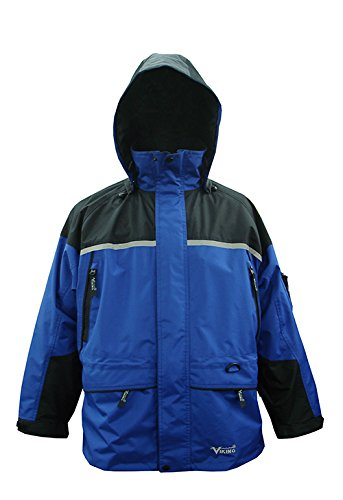 Viking Men's Tempest Tri-Zone Waterproof Insulated Winter Jacket, X-Large, Royal ()