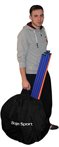 Tasche für 10er Set Slalomstange mit befüllbarem X-Standfuß
