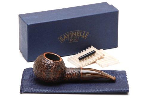 Savinelli Tundra Brownblast EX 320 Tobacco Pipe by Savinelli