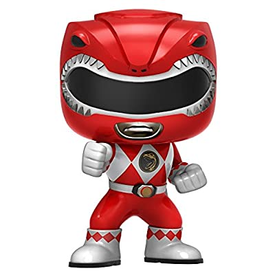 Funko POP Television: Power Rangers Action Figure, Red: Funko Pop! Television:: Toys & Games
