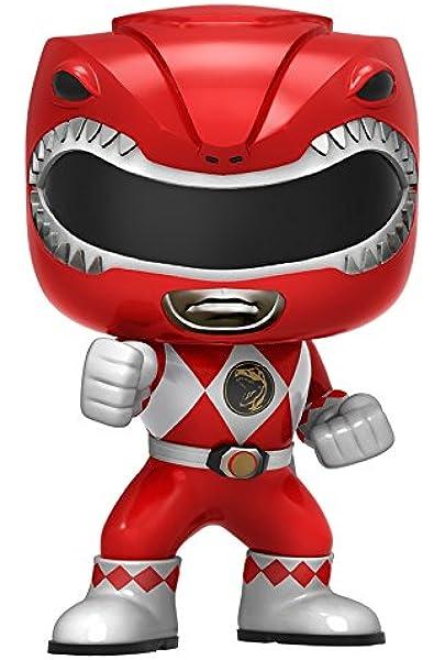 Power Rangers-Red Morphing Funko POP-VINILE