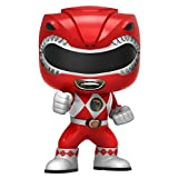 Funko 12272 POP Television: Power Rangers Action Figure, Red