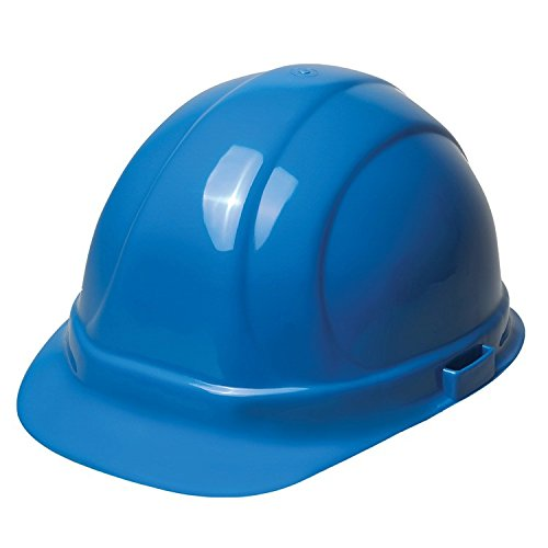Monsters Inc Hard Hat (ERB 19136 Omega II Cap Style Hard Hat with Slide Lock, Blue)