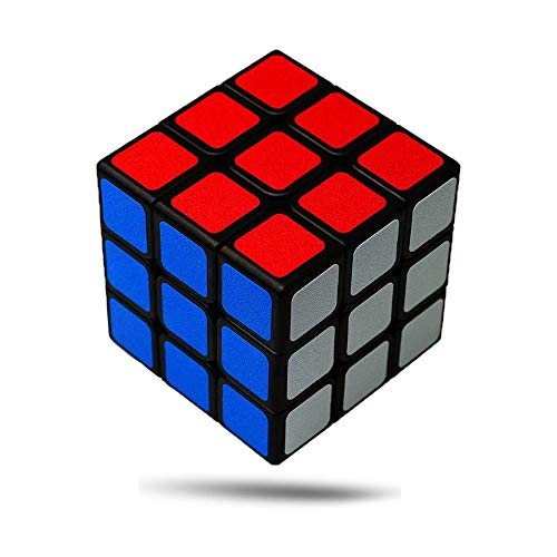 Wanrun 3x3 Speed Cube Easy Turning Magic Cube 3x3x3 Puzzle Cube Educational Brain Teaser Game (56mm)