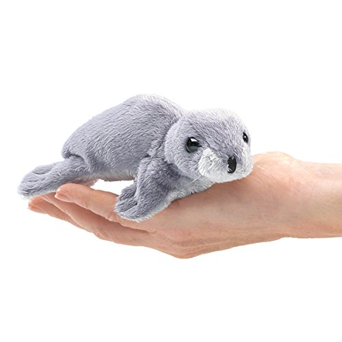 Folkmanis Mini Monk Seal Finger Puppet ()