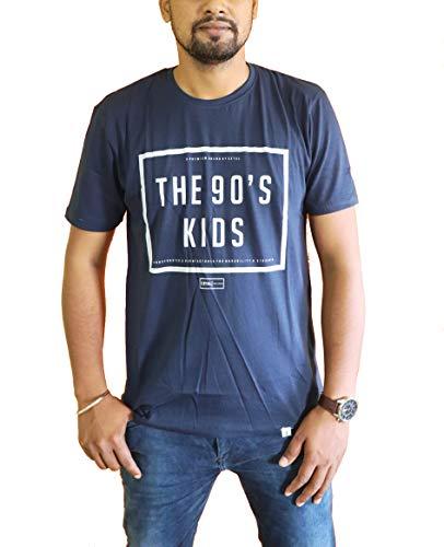 KFL Man Round Neck T Shirt  Blue