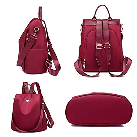 Amazon.com: LSLMCS Stylish Casual Women Backpack Ladies ...