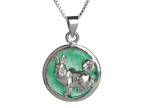 Chinese Zodiac Jade Pendant Necklace