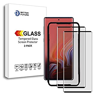Better Future Glass Note 10 Screen Protector 3D Note 10 Tempered Glass for Galaxy Note 10[Fingerprint Not Workable]