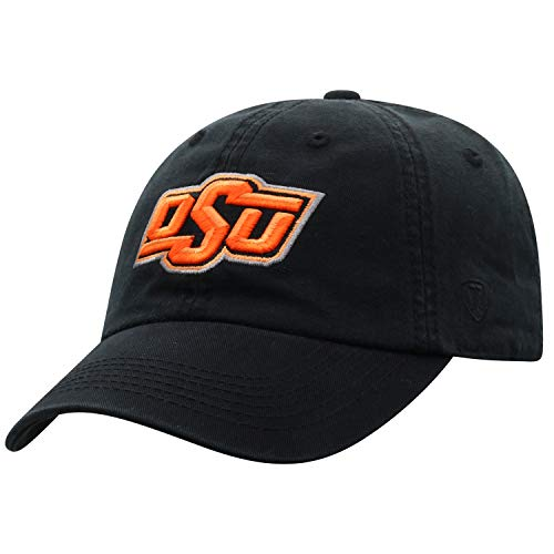 OSU Hat Oklahoma State University Cowboys NCAA Top of the World Crew Adjustable Relaxed Fit Cap - State Oklahoma Cowboys College Baseball