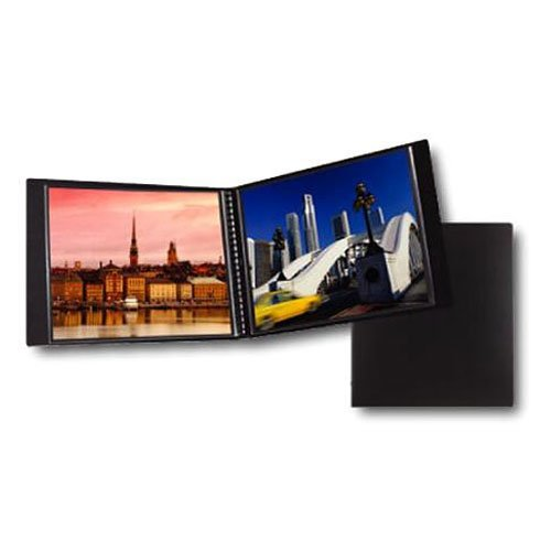 Itoya Art Profolio Multi-Ring Mini Refillable Binder - 8.5 x 11 (20 Sheets) + Itoya Art Portfolio Polyglass Refill Pages (Set of 10) 8.5'' x 11'' PR811 + Photo4Less Cleaning Cloth + Presentation Bundle by Photo4Less (Image #2)