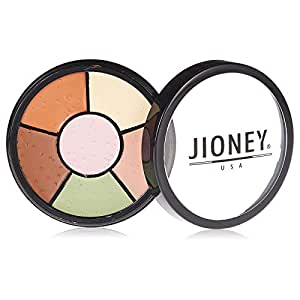 Six Color Concealer Wheel, 002 by Jioney