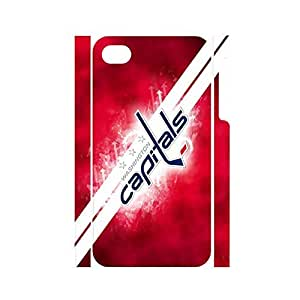 Funny Hipster Pop Hockey Team Logo Dustproof Phone Accessories for Iphone 4 4s Case